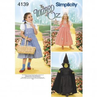 4139  Simplicity Pattern: Child's Costumes